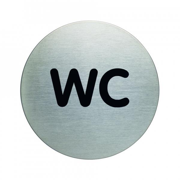 "Piktogram ""WC"" Ø 83 mm"